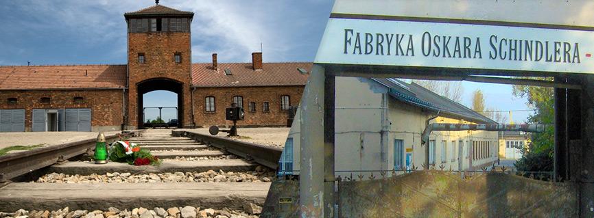 Auschwitz-Birkenau e Fabbrica di Oskar Schindler.