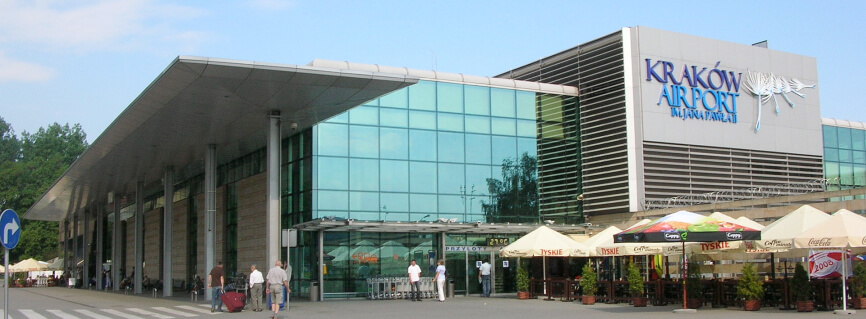 Krakow airport Krakow transfers realized by professional company.