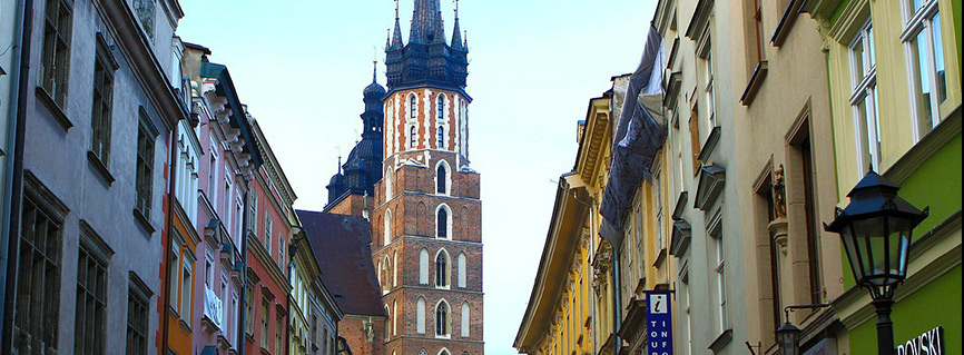 Krakow city guide trip around medieval Main Square
