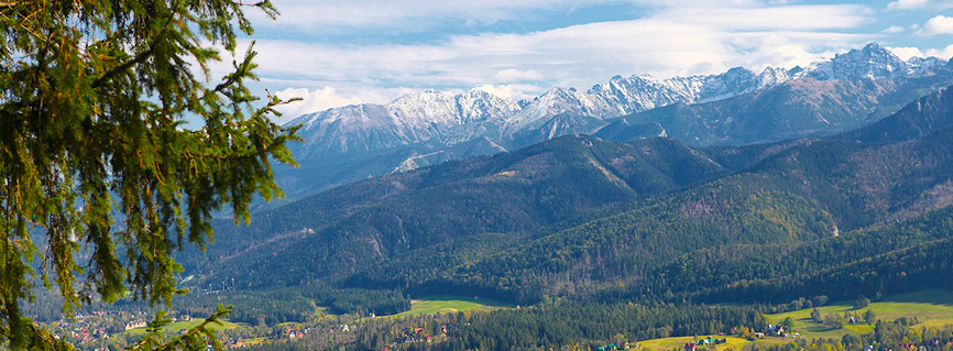 Visit Zakopane and let the beauty of the mountains delight you.