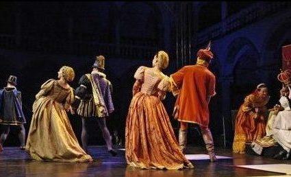 Festivals in Krakow- Cracovia Danza performers.