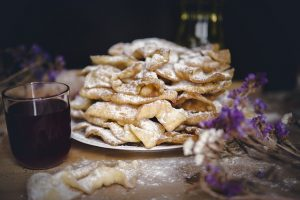Angel wings - Traditional Polish food