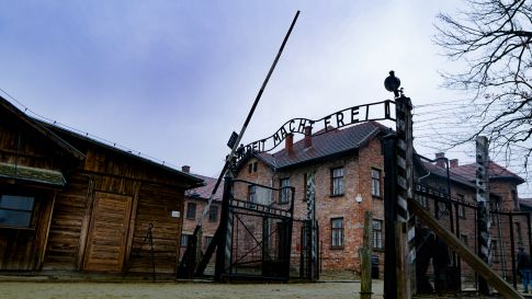 Places to see in Krakow - Arbeit macht frei