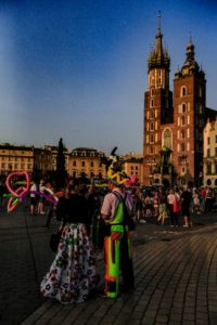 Krakow tourists attractions - street artists
