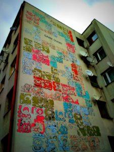 Krakow street art - Mayamural