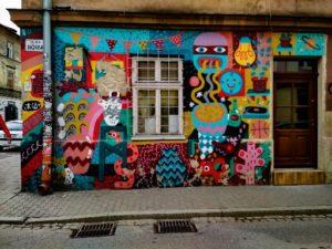 Krakow street art at Kazimierz