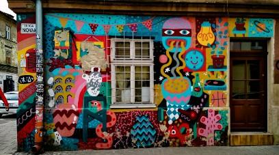 Following the street art of Kazimierz
