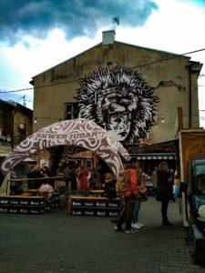 Judah square - Krakow street art