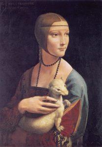 Leonardo in Krakow - Lady with an ermine
