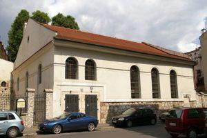 Kupa Synagogue in Krakow Kazimierz Quarter