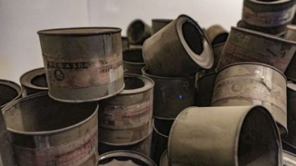Auschwitz facts in numbers - cans of Zyklon B