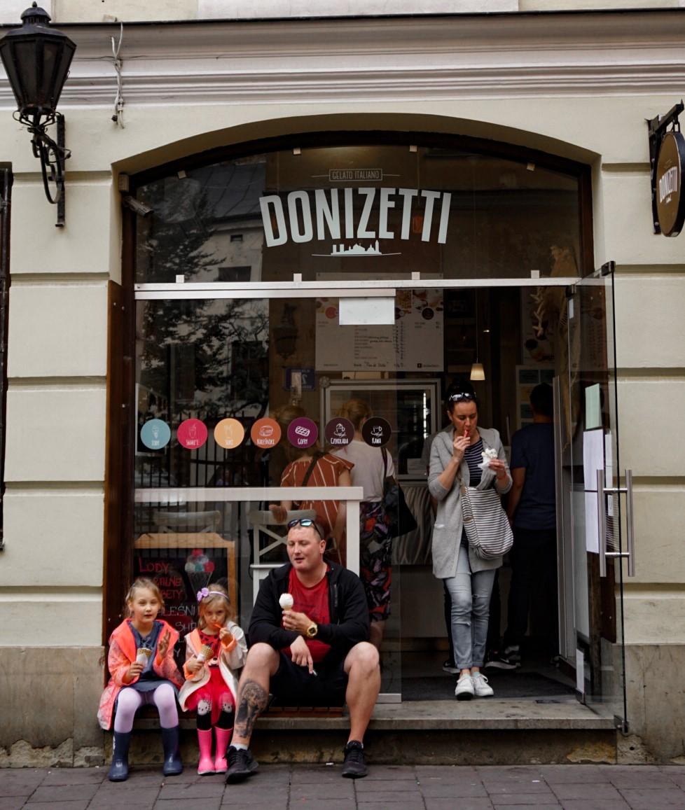 Krakow ice cream - donizetti