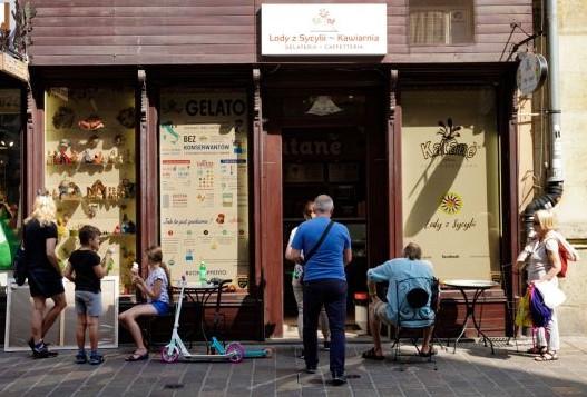 Krakow ice cream Katane