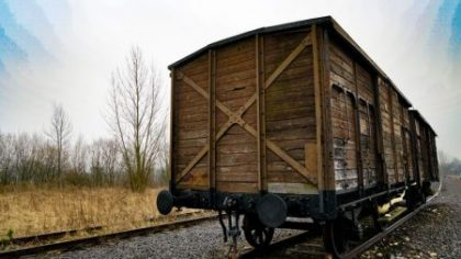 Auschwitz facts in numbers - wagon