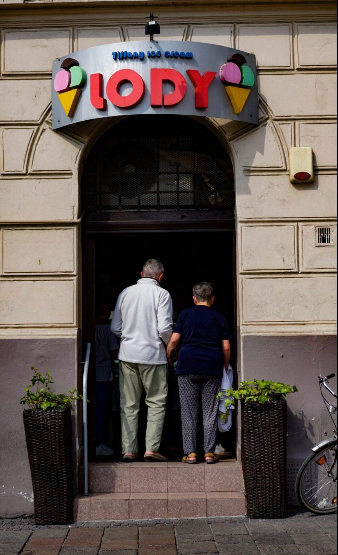 Krakow best ice cream