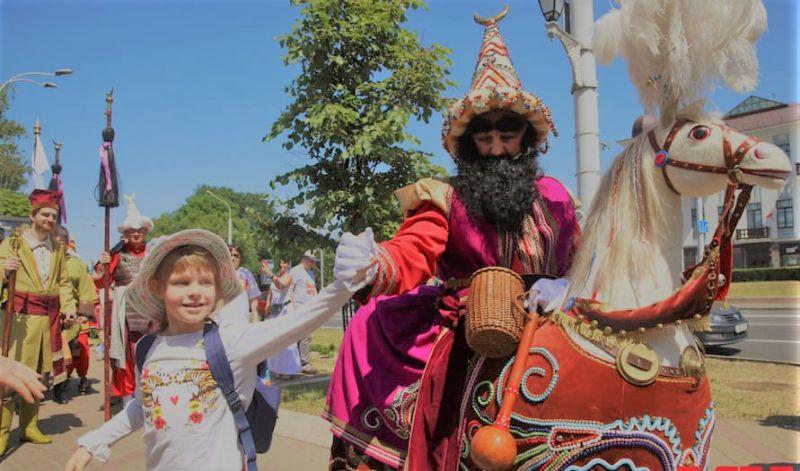 Lajkonik Tradition