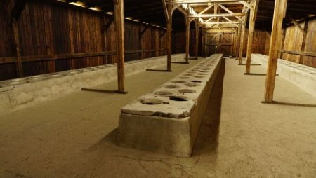 Auschwitz facts in numbers - latrine