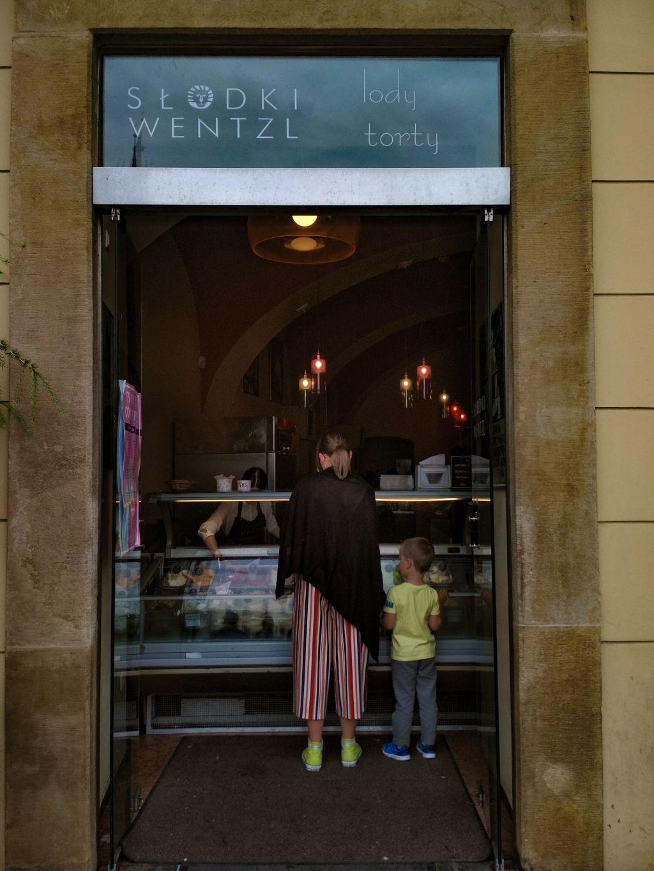 Sweet wentzl - best ice cream Krakow