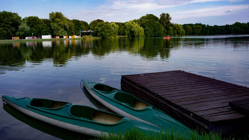 Nowa Huta Lagoon - beautiful Krakow Photos