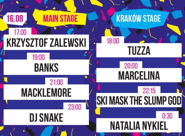 Krakow live festival line up