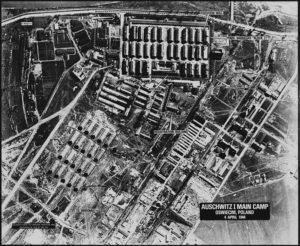 Auschwitz location befor the waer