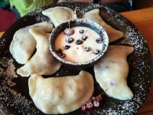 Best Polish pierogi - fruits
