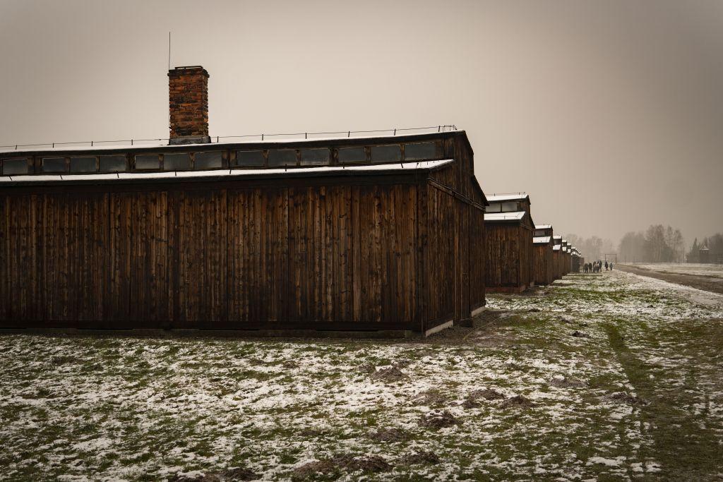Auschwitz pictures - barracks