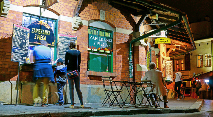 Eating out in Krakow – best street food in town