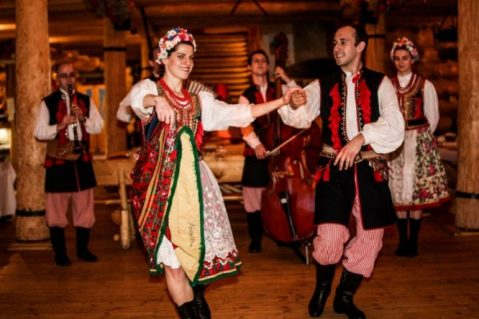 Traditional Polish Folk Dance
