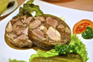 Aspic - traditional Polish food