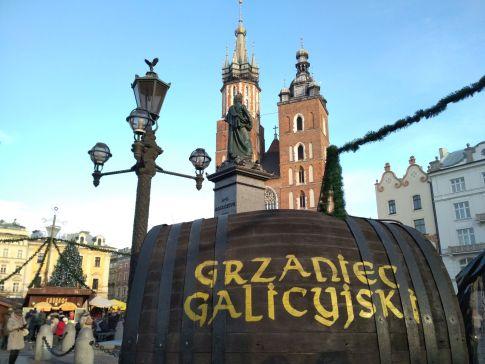 Krakow Christmas Market - grzaniec