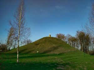Wanda Mound in Krakow