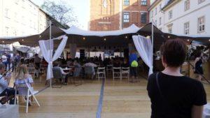 Jewish festival - tents