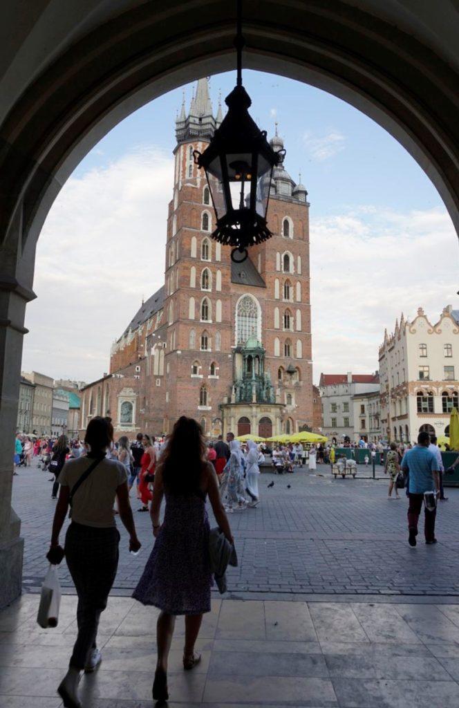 Sightseeing Krakow