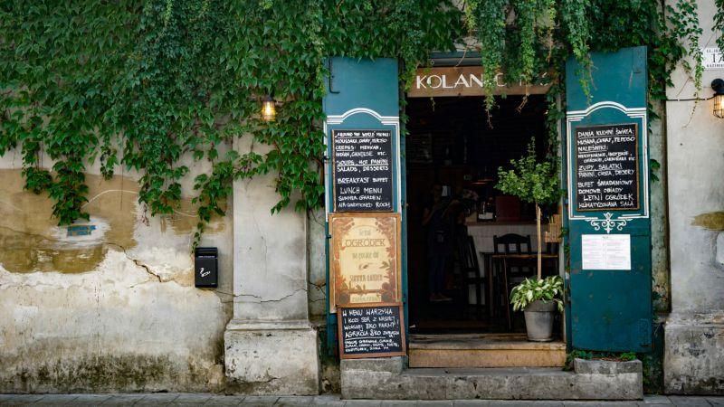 Kolanko in Krakow Jewish Quarter