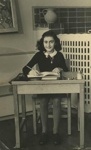 Anne Frank - Auschwitz camp victim