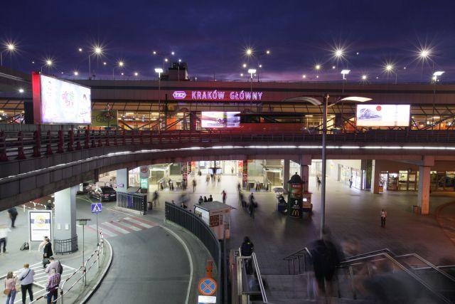Where is Krakow main station