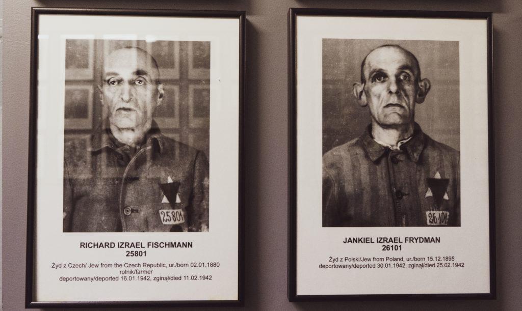 Auschwitz images pf prisoners