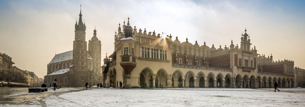 Krakow images - winter