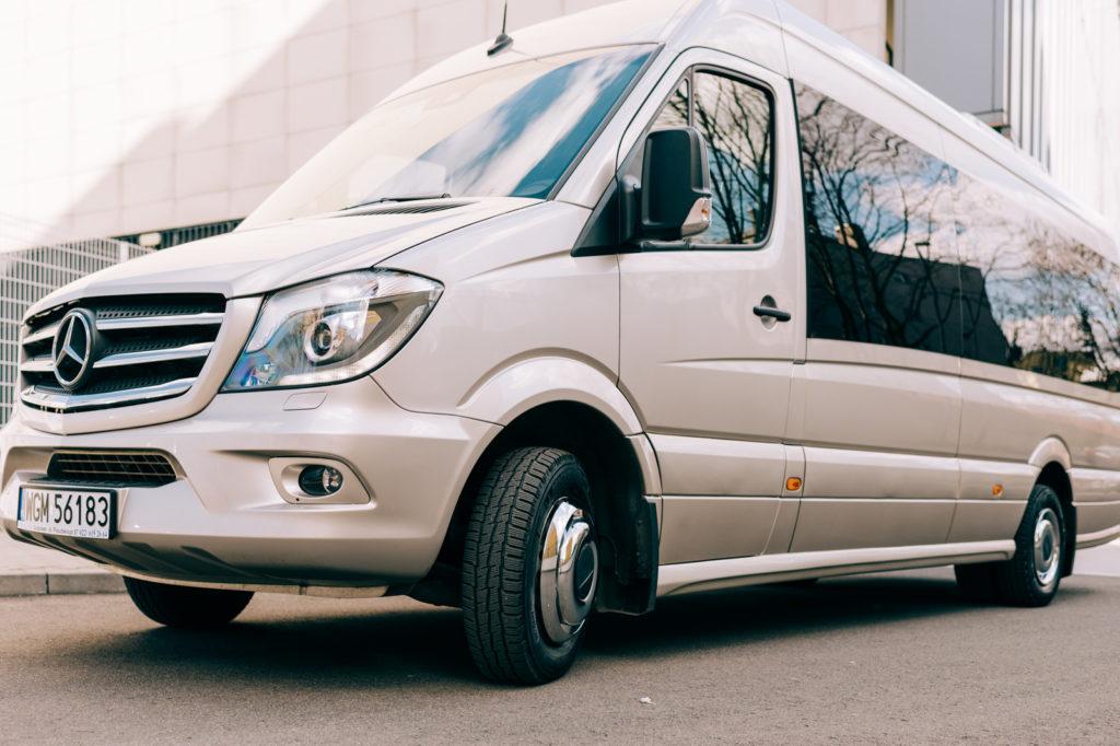 Przewóz osób - Mercedes Sprinter